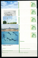 REPUBLIQUE FEDERALE ALLEMANDE - Ganzsache Michel P 134 - Série J8 Complète - Postales Ilustrados - Nuevos