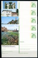 REPUBLIQUE FEDERALE ALLEMANDE - Ganzsache Michel P 134 - Série J9 Complète - Postales Ilustrados - Nuevos