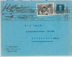 93855 - ARGENTINA - POSTAL HISTORY - Cover 1937  CHRISTMAS Medicine TUBERCULOSIS - Briefe U. Dokumente