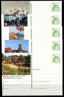REPUBLIQUE FEDERALE ALLEMANDE - Ganzsache Michel P 134 - Série J11 Complète (sauf J11-175) - Postales Ilustrados - Nuevos