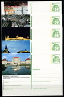 REPUBLIQUE FEDERALE ALLEMANDE - Ganzsache Michel P 134 - Série J12 Complète (sauf J12-191) - Postales Ilustrados - Nuevos