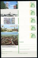 REPUBLIQUE FEDERALE ALLEMANDE - Ganzsache Michel P 134 - Série J13 Complète (sauf J13-207) - Postales Ilustrados - Nuevos