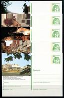 REPUBLIQUE FEDERALE ALLEMANDE - Ganzsache Michel P 134 - Série J14 Complète - Postales Ilustrados - Nuevos