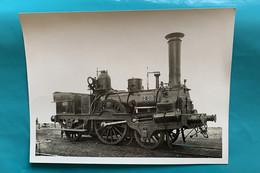 Locomotive Etat 12-010 - Photo Gare Saint Lazare - 1933- France Paris 75 Train Chemin Fer Loc Loco Vapeur Ouest SNCF - Trains