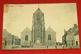 ELLEZELLES  -  L' Eglise   -  1908  - - Ellezelles