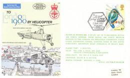 Grande Bretagne-British Forces1655 Postal Service-11/04/1980-hélicopter To London 1980 - Hélicoptères