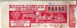 PORTUGAL-24142 - Loterijbiljetten