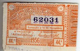 PORTUGAL-62031 - Loterijbiljetten