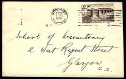 EN PROVENANCE DE CORCAIGH - IRLANDE - 1930 - POUR GLASGOW - Storia Postale