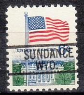 USA Precancel Vorausentwertung Preo, Locals Wyoming, Sundance 812 - Preobliterati
