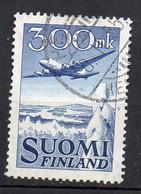 1950 Finlandia A3 Douglas In Volo Timbrato Used - Used Stamps