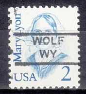 USA Precancel Vorausentwertung Preo, Locals Wyoming, Wolf 852 - Precancels