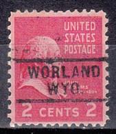 USA Precancel Vorausentwertung Preo, Locals Wyoming, Wordland 729 - Precancels