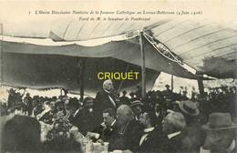 44 Le Loroux-Bottereau, Union Diocésaine Nantaise De La Jeunesse Catholique, 1906, Toast De Pontbriant - Sonstige Gemeinden