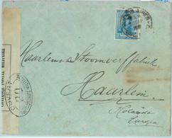 93865 - ARGENTINA - POSTAL HISTORY -  CENSORED Cover  To HOLLAND 1916 - Cartas