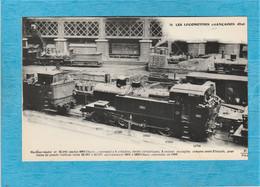 Transport-Train. - Les Locomotives Françaises État. - Machine-Tender N° 32-501. - Treni