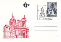 B01-342 Carte Ca Bk 37 -   Cathédrale St-Aubin De Namur Visite Pape 17-05-1985 2000 Antwerpen - Tarjetas Ilustradas