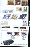 BM2521, Zypern. O, 2003, 7 FDC, 1010-1030 Komplett - Briefe U. Dokumente