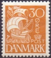 DENEMARKEN 1927-40 30öre Schip PF-MNH - Nuevos
