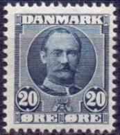 DENEMARKEN 1907-12 20öre Frederik VIII Type A PF-MNH - Unused Stamps