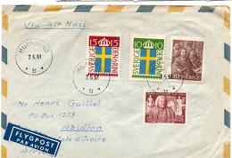 Munksund B 1961 - Letter Brief Lettre - Briefe U. Dokumente