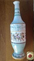 Bottiglia Maiolica(?) Liquor Isolabella Post Prandium (A) - Spirits