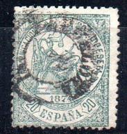 Sello Nº 146  España - Oblitérés