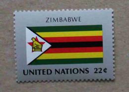 Ny87-01 : Nations-Unies (N-Y) / Drapeau Des Etats Membres De L'ONU - Zimbabwe - Neufs