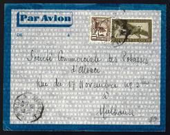 EN PROVENANCE DE HANOÏ - TONKIN - 1938 - POSTE AÉRIENNE - - Airmail