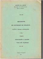 BIBLIOGRAPHIE DES HISTORIQUES DES REGIMENTS DE 1914 A .. CUIRASSIER DRAGON CHASSEUR HUSSARD LEGION ETRANGERE SPAHI TRAIN - French