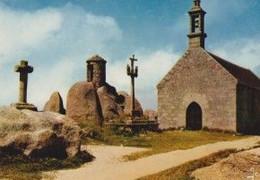 29 BRIGNOGAN-PLAGE La Chapelle Pol Et La Guérite Du Guetteur, La Croix Et Le Calvaire - Brignogan-Plage