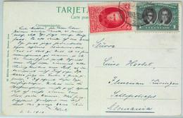 93872 - ARGENTINA - POSTAL HISTORY -  POSTCARD  To GERMANY  1910 - Cartas