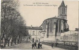 33 LA REOLE PROMENADE DESV TILLEULS - La Réole