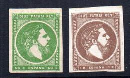 Sellos Nº 160/1  España - Nuevos