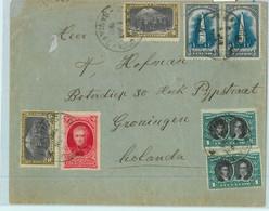 93876 - ARGENTINA - POSTAL HISTORY - Cover : VILLA COSTITUCION  To HOLLAND  1910 - Cartas