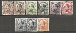 ESP 1930- Yv. N° 403 à  411, Sauf 409 Avec 410a   (o)  Série 2c à 50c Sauf 30c  Aphonse XIII Cote  6,5 Euro BE  2 Scans - Oblitérés