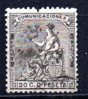 Sello Nº 134  España - Usados