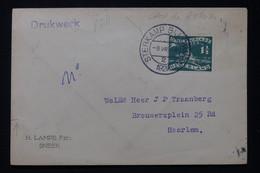 PAYS BAS - Oblitération Du Camp De L 'étoile Sur Enveloppe En 1928 Pour Haarlem,affranchissement Jeux Olympique- L 89318 - Covers & Documents