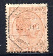 Sello Nº 191  España - Usados
