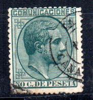 Sello Nº 196  España - Usados