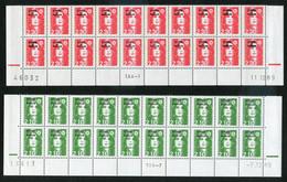 Lot Marianne Du Bicentenaire, En Blocs De 4, 10 Ou 20 Cd - Collections, Lots & Séries