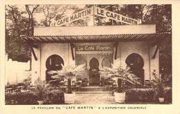 Le Pavillon Du Café Martin à L'Exposition Coloniale De Paris Café Martin 34 Rue Joubert - Pubblicitari