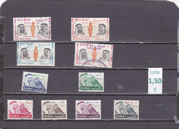 Dubái . Lote 10 Sellos Diferentes  - 2/1737 - Dubai