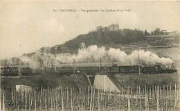 18  SANCERRE - Vue Générale Le Chateau Et La Tour - Other Municipalities