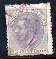 Sello Nº 212 España - Usados