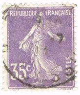 France, N° 136 Obl. Type Semeuse - Used Stamps