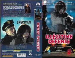 """""""ILLEGITIME DEFENSE"""" -jaquette SPECIMEN Originale PARAMOUNT VHS SECAM -sirens - Crime"""