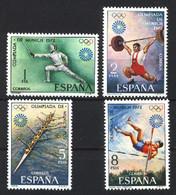 Spain 1972. JJOO Munich Ed 2098-01 (**) Mi 1993-1996 - 1971-80 Nuevos & Fijasellos