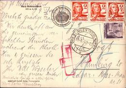 ! 10.6.1949 Nachporto Überlingen N. Hamburg, Württemberg - Zona Francesa