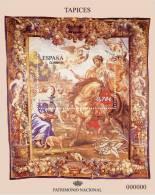 ESPAÑA 2010 - PATRIMONIO NACIONAL - TAPIZ ZENOBIA - HOJITA BLOQUE - EDIFIL Nº 4579 - 2001-10 Nuevos & Fijasellos
